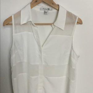 Forever 21 sleeveless blouse